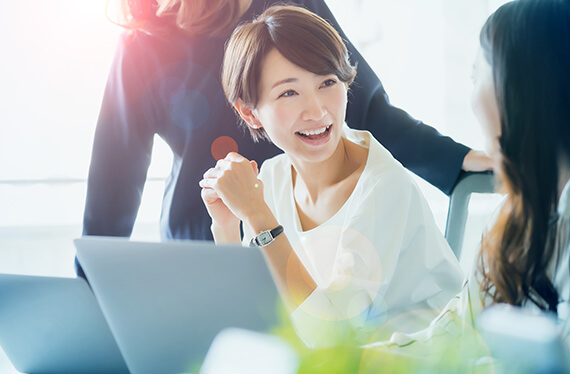 女性の活躍支援・民間資格発行のイメージ